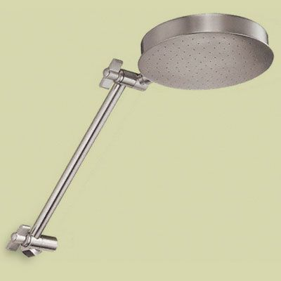 Replace An Old Fixed Showerhead With One That Has An Articulating