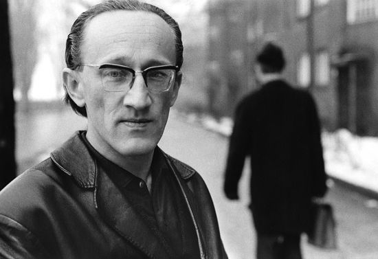 Heiner Müller 1968, Photo Roger Melis