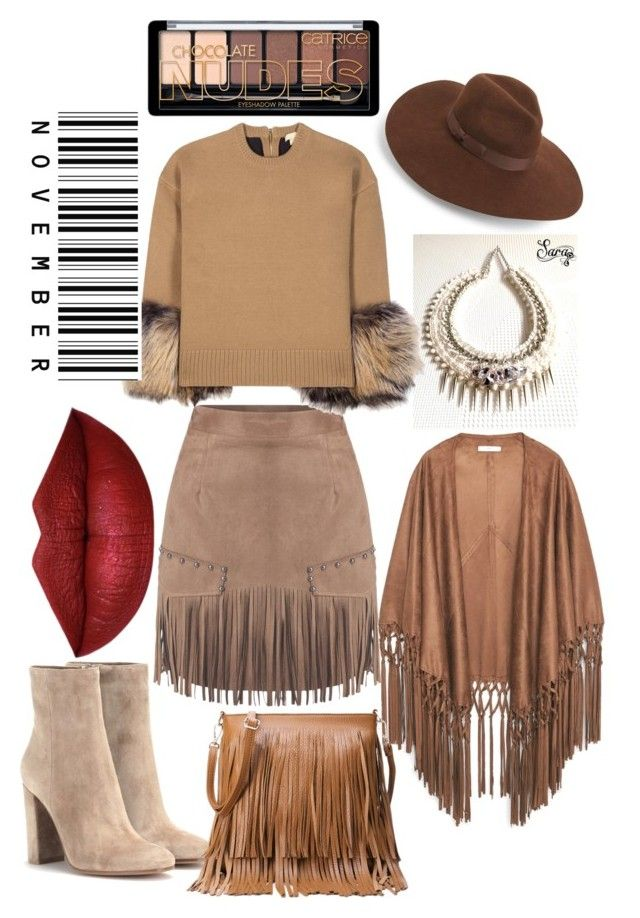 """""""Untitled #112"""" by tea-resuli ❤ liked on Polyvore featuring Lack of Color, Gianvito Rossi, Michael Kors and MANGO"""