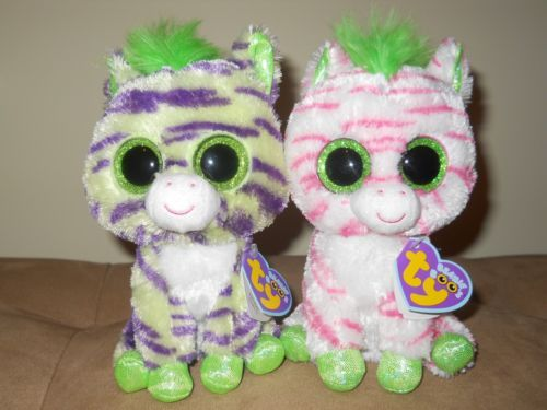 6ed7dd0f872 Ty Beanie Boos Sapphire and Wild The Zebras Justice Store Exclusive ...