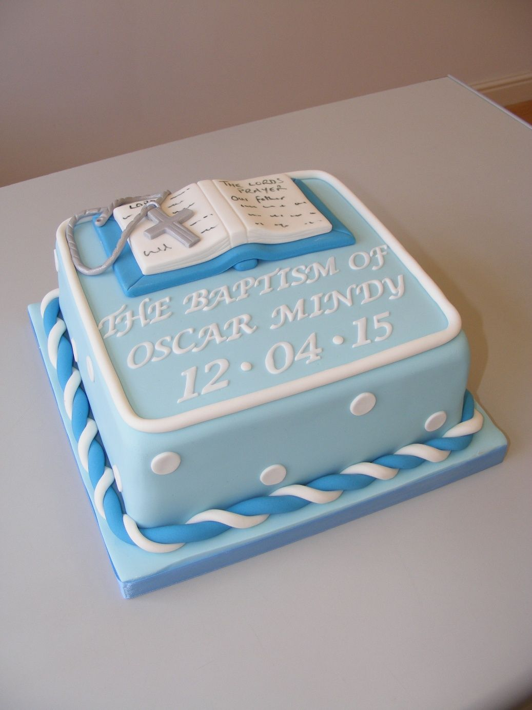 Pin By Lissa Ryan On Baptism Cake In