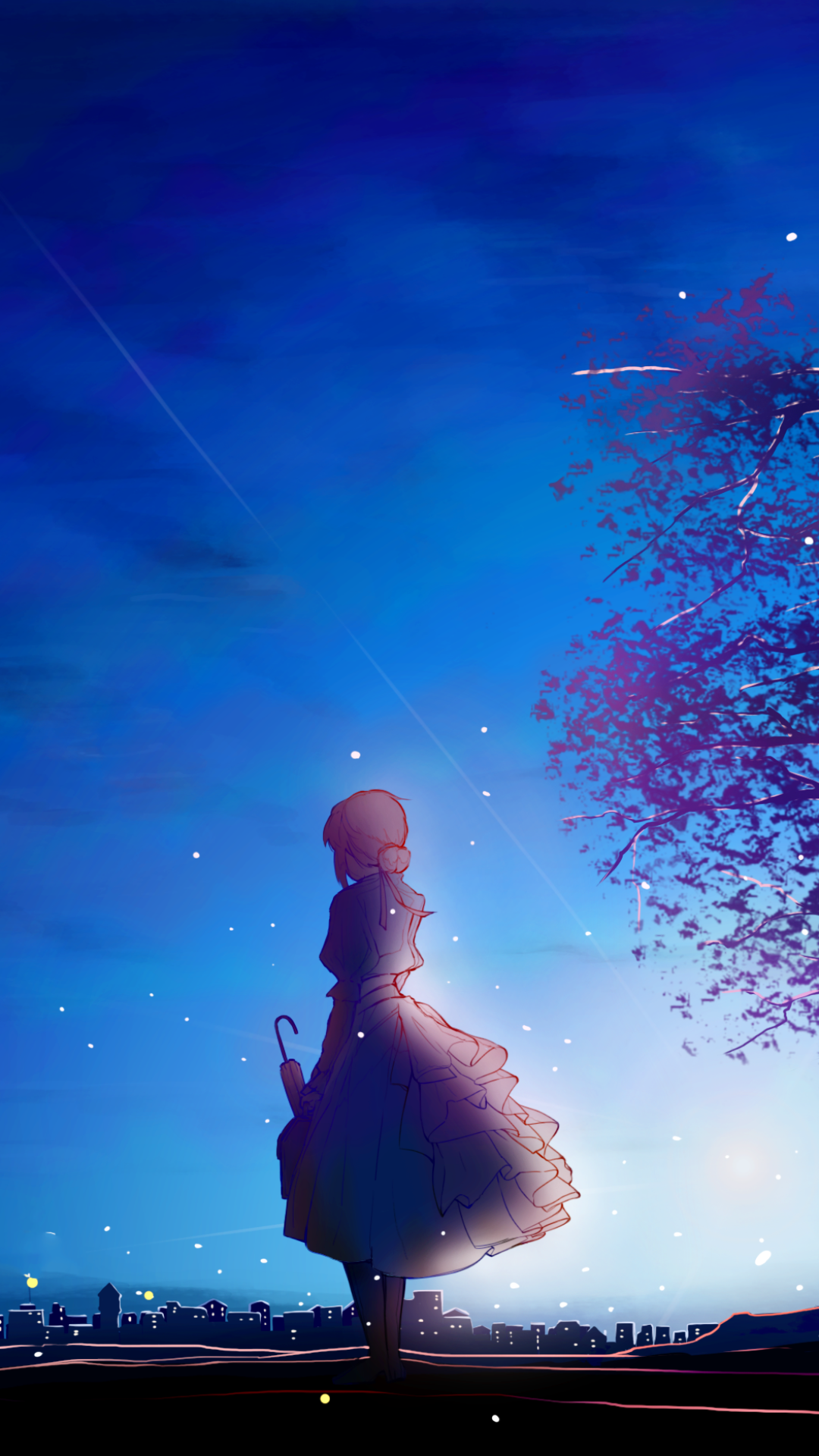 Download This Wallpaper Anime Violet Evergarden 1080x1920 For All Your Phones And Tablet Violet Evergarden Wallpaper Violet Evergreen Violet Evergarden Anime