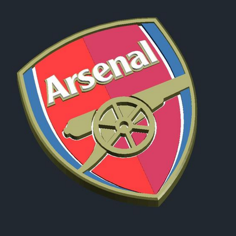 3D printing FC Arsenal London - Logo, CSD_Salzburg