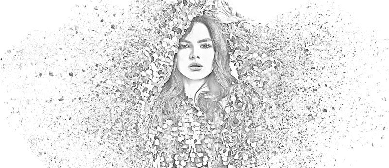 Pencil Sketch Effect In Photoshop Free Download