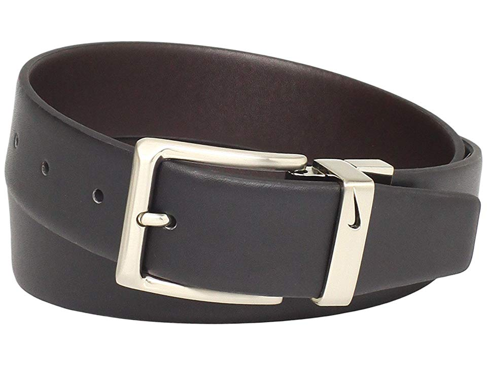Nike Reversible Dress BlackBrown Mens Belts Nike delivers a versatile accessory in the Reversible Dress belt Switch your style up with Nike Technology Leather strap with...