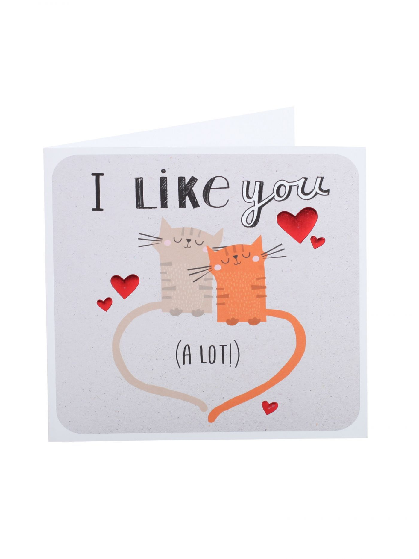 I Like You A Lot Valentines Cards Valentines – Clintons Valentines Cards