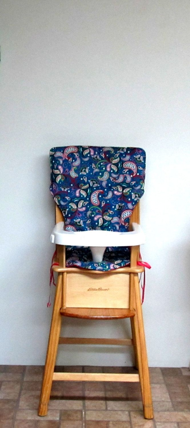 High Chair Pad, Eddie Bauer Chair Cover, Jenny Lind Chair Pad, Kids  Furniture
