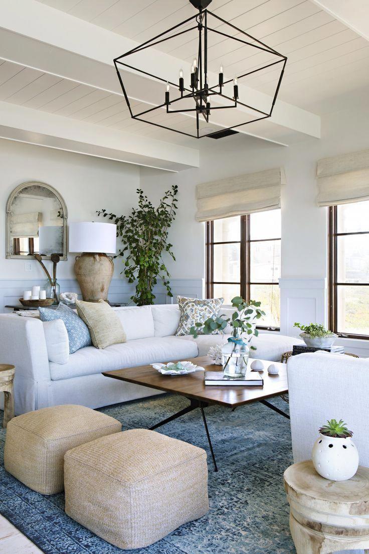 Perfect huisdecor voor woonkamer aan de kust + ontwerpideeën voor de kust +  decoratie met… #homelivingroom in 2020 (With images) | Farm house living  room, Living room remodel, Coastal living room