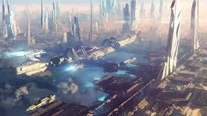 sci fi city lights - Google keresés