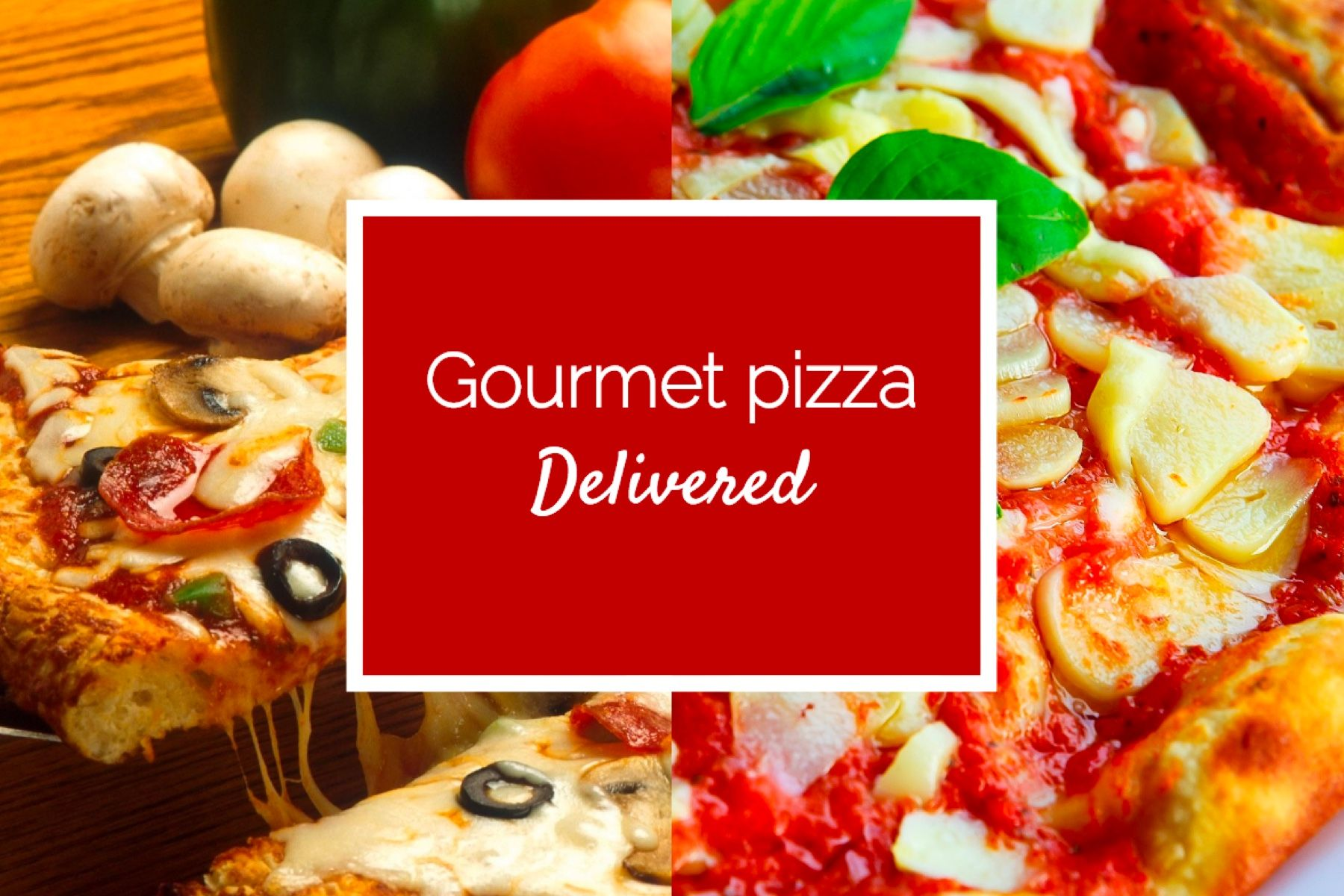 Free Pizza Delivery Postcard Template Feel Feel To Use It For Your