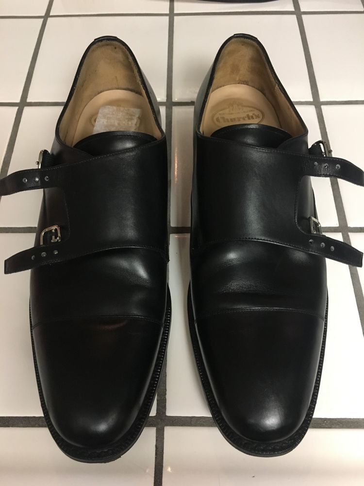 fe3794d9f78 Church s Detroit Double Leather Monk Strap Shoes for men. Size 11. Custom  made.  fashion  clothing  shoes  accessories  mensshoes  dressshoes (ebay  link)