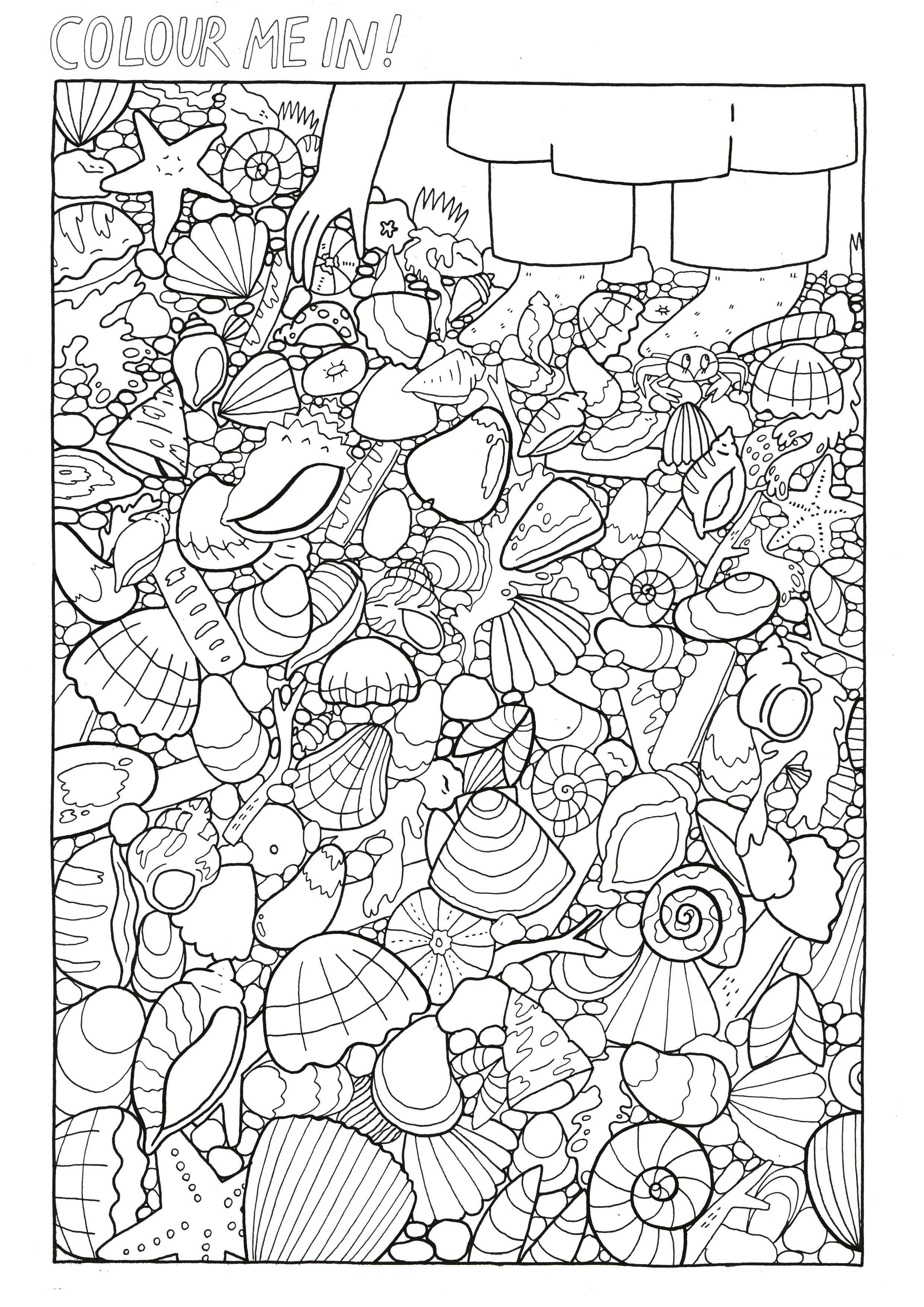 Our Favourite Page From The Colouring Book This Took Lize