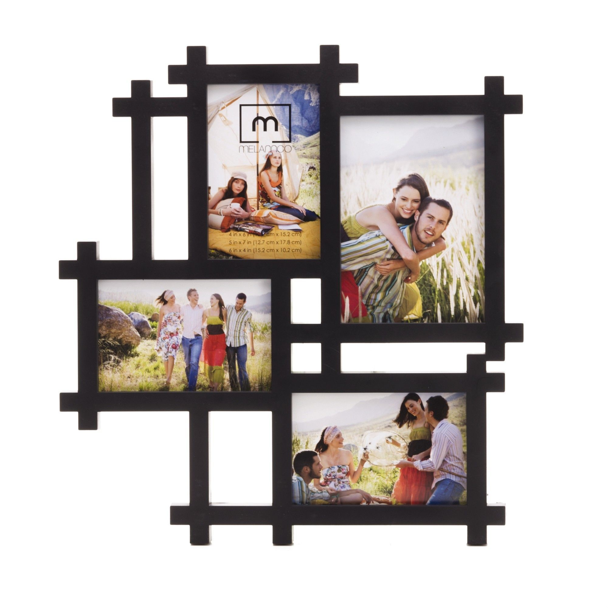Melannco 4 Opening Lattice Collage Frame Collage Frames Frame Wall Collage Framed Photo Collage