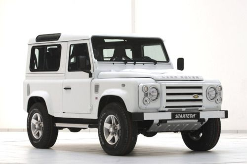 The Land Rover Defender 90 Yachting Edition Startech Autos Y