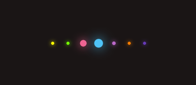 Glowing Dots Loading Page Animation Using Css And Html Within Two Steps Step 1 Create A New File And Write The Following Html Code In Editor An Css Dots Glow