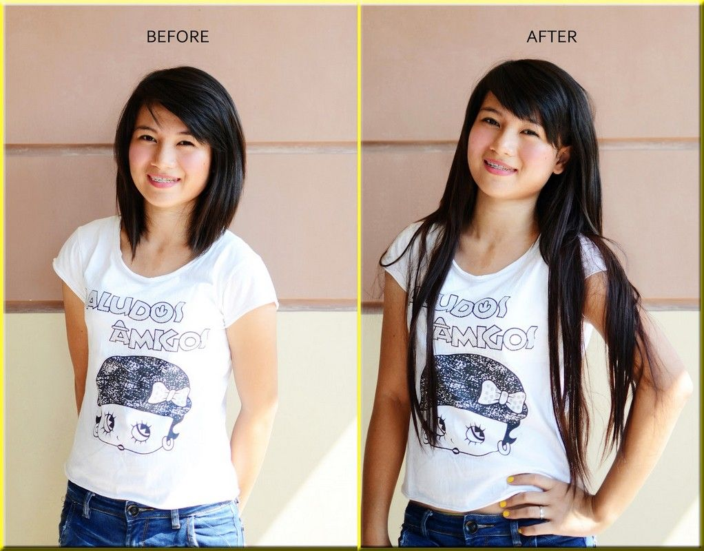 Euronext Hair Extensions Before And After Topsimages