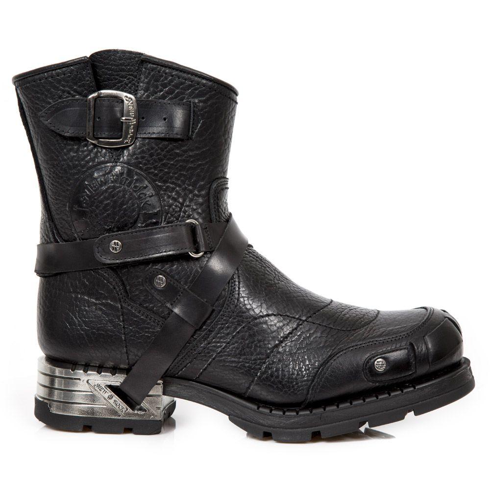 Mens M-mr041-s5 Cowboy Boots, Black, Black New Rock