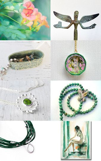 Green Freshness Drop by Asta on Etsy--Pinned with TreasuryPin.com