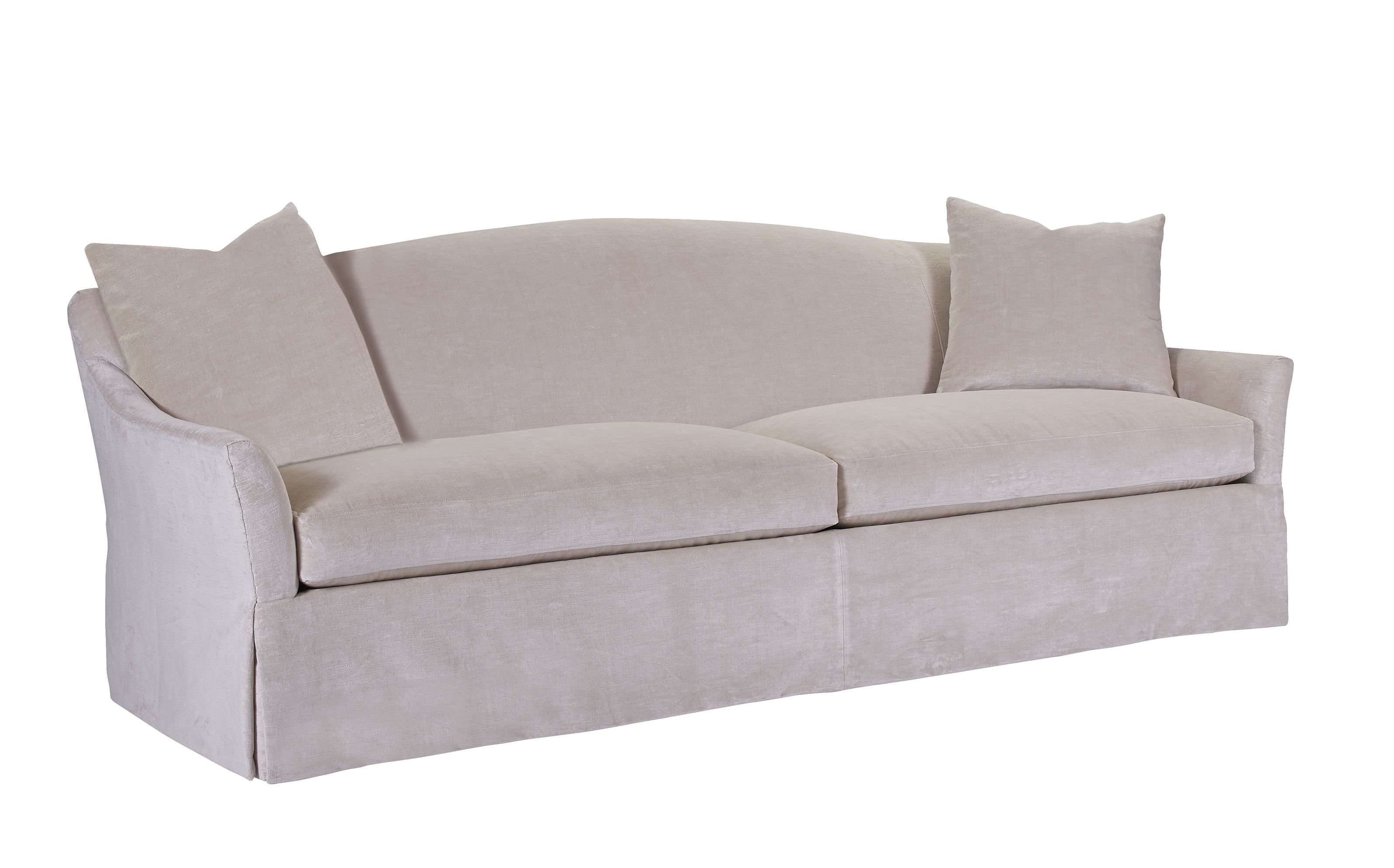 Willow Sofa With A Long Gentle Curve To The Back The