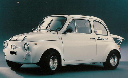 1964 Fiat 500 Giannini 590 Gt Giannini Automobili Is An Italian