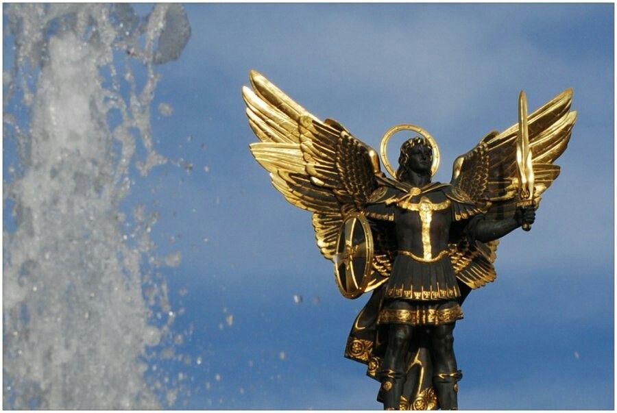 фото архангела михаила для рабочего стола для этого