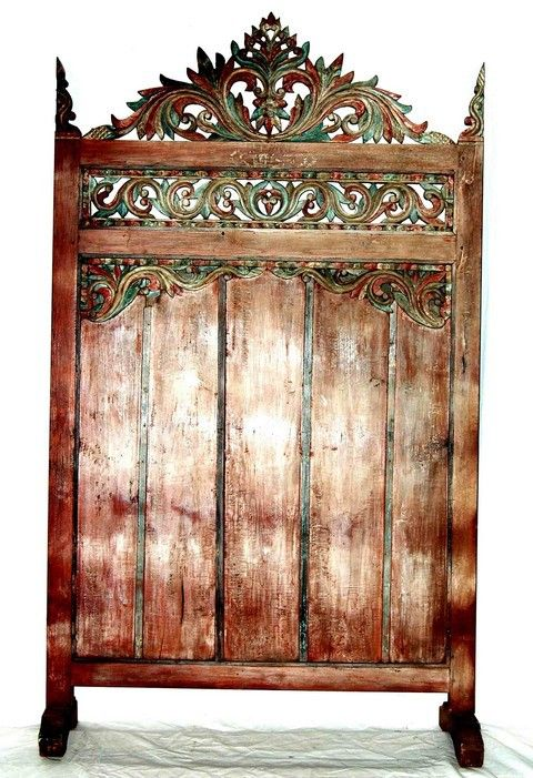 Berbere World Imports - 930-032---Vintage Wooden Panel on Base, $1,300.00 (http://www.berbereworldimports.com/products/930-032-vintage-wooden-panel-on-base.html/)