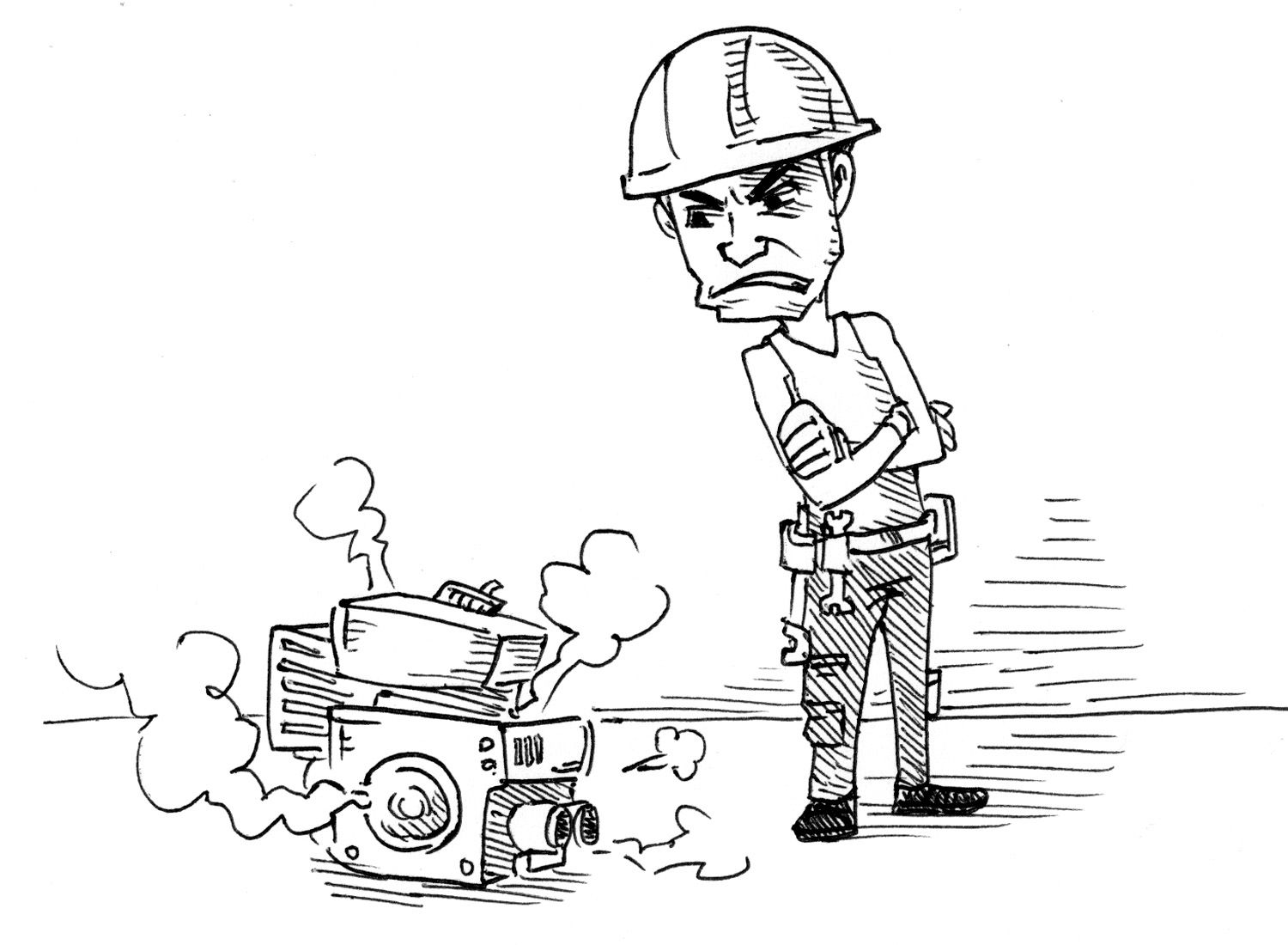 A bad workman blames his tools Blame, Picture prompts, Bad
