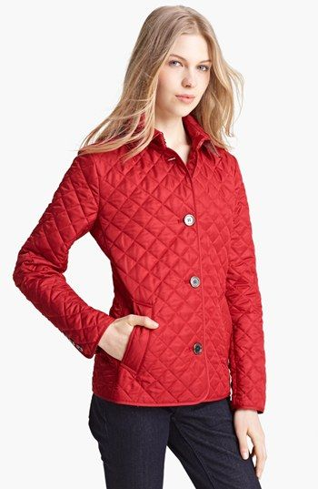 Burberry Brit 'Copford' Quilted Jacket available at #Nordstrom ... : burberry brit copford quilted jacket black - Adamdwight.com