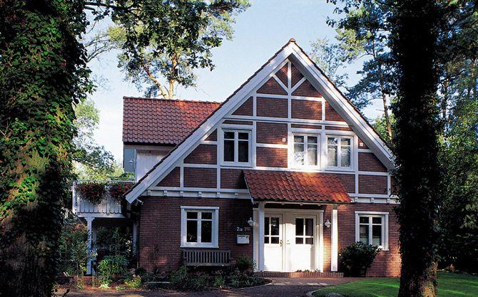 Stadtvilla roter klinker  Landhaus 8 - Haacke Haus: Stadtvilla, Architektenhaus, Passivhaus ...