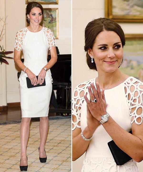 Looks Para O Noivado 10 Vestidos Brancos De Kate Middleton