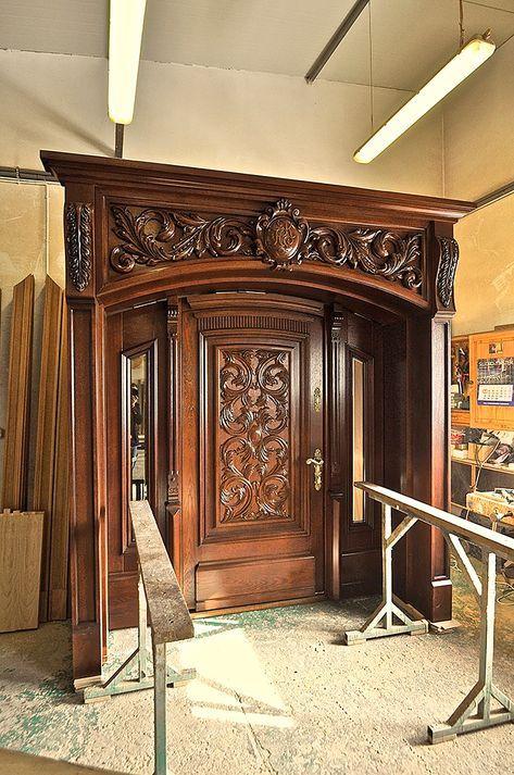 Retro external door DZ-24 – Wooden interior doors and …