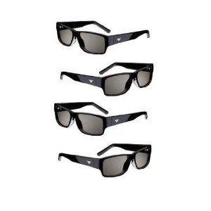 M3D421SR 4 PAIRS M3D460SR VIZIO M3D420SR M3D550SR THEATER 3D GLASSES