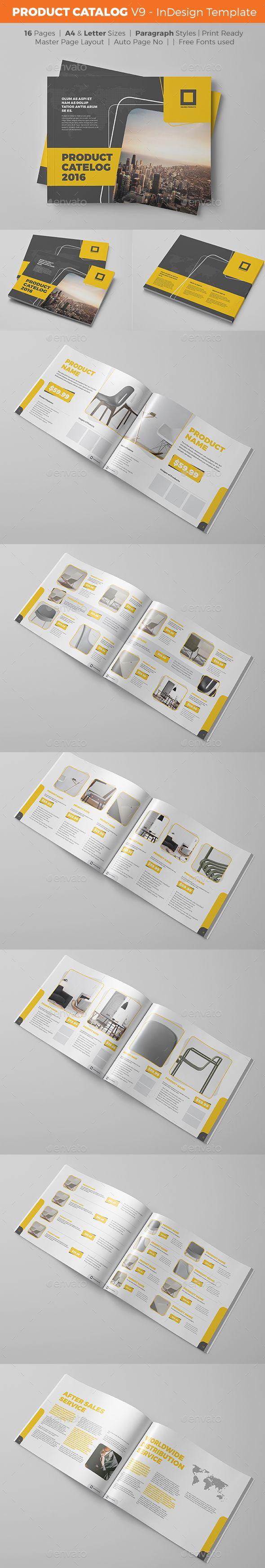 Product Catalog Template - V9 | Catálogo, Diseño de catálogos y Tríptico