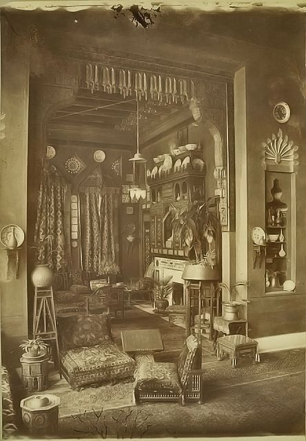 Moorish influence in Victorian design