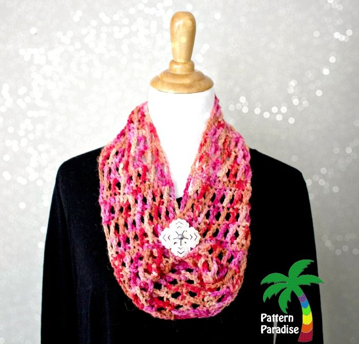 Free Crochet Pattern-X Stitch Challenge, Hugs & Kisses Cowl | Chal ...