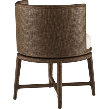 mcguire furniture barbara barry canyon swivel dining chair m 436 hacks chaises