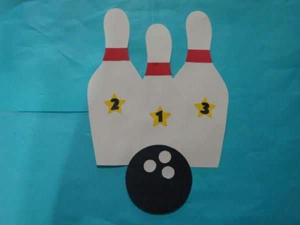 sports arts and crafts ideas bowling pins 25 in sports crafts by crafts for 7174
