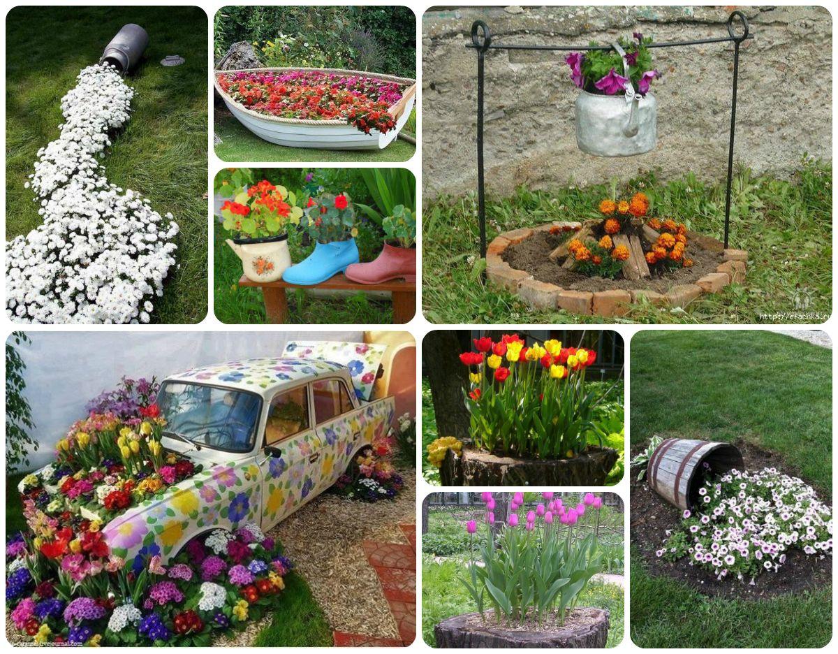 сад и огород дизайн своими руками фото интересные идеи 5