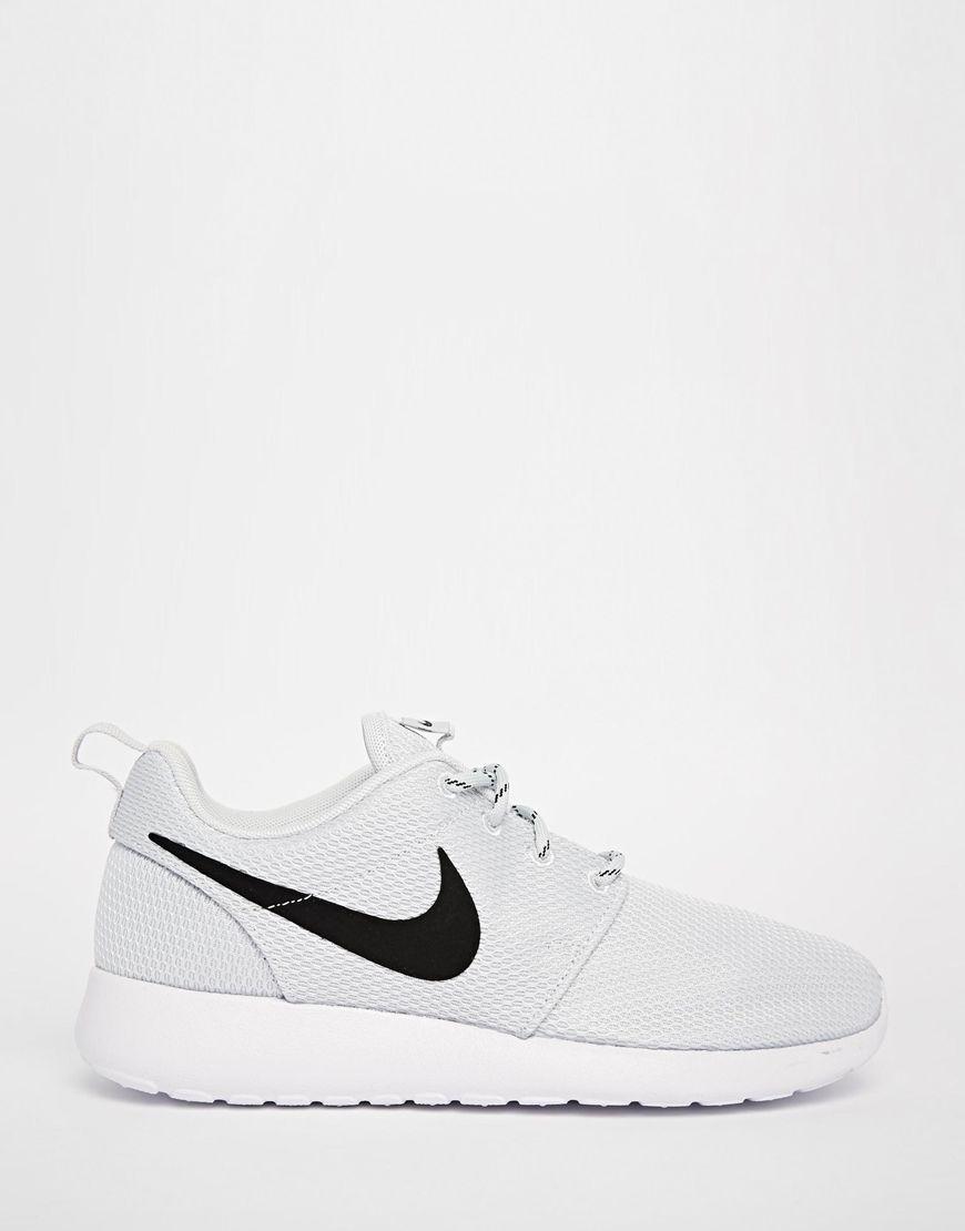 Buy Women Shoes / Nike Roshe Run Pure Platinum Trainers