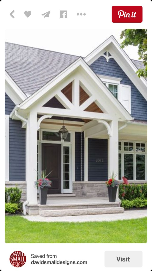 Pin By Amanda Emory On Exterior Design House With Porch