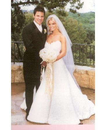 Jessica simpson wedding dress future pinterest vera for Jessica simpson wedding dress