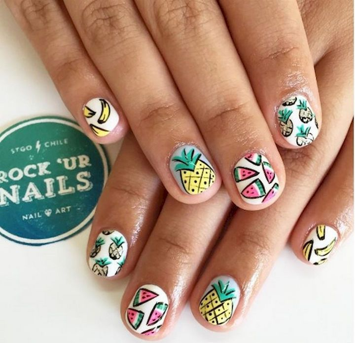 17 Fruit Nails That Will Look Great This Summer 6 Looks So Awesome