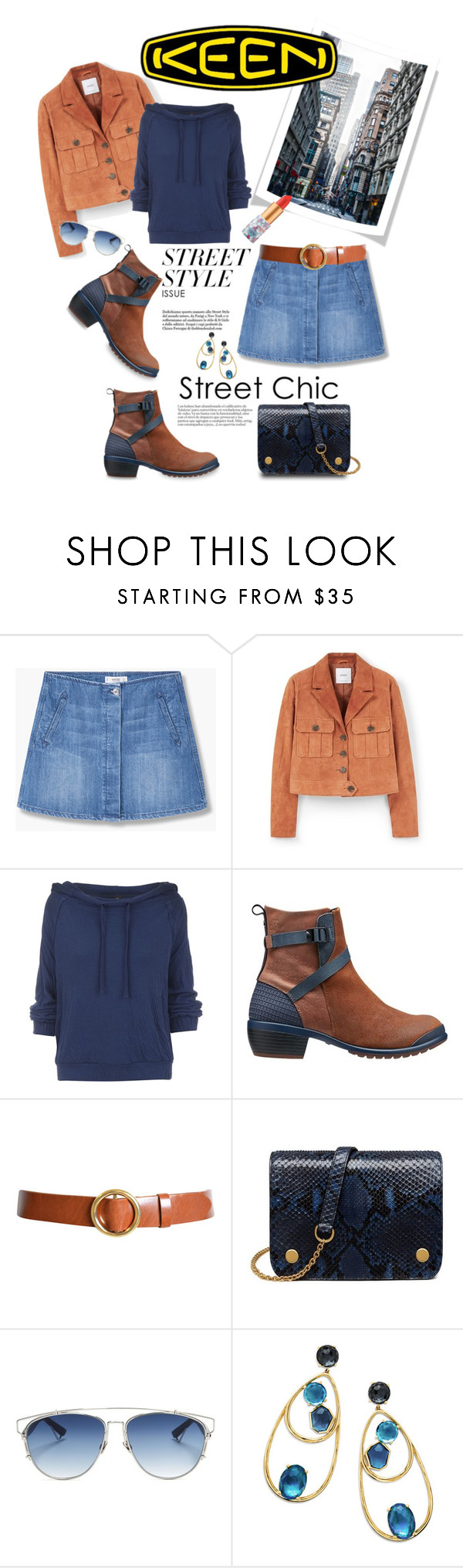 """""""So Fresh and So Keen: Contest Entry"""" by shortyluv718 ❤ liked on Polyvore featuring MANGO, Chiara Ferragni, Free People, Keen Footwear, Frame Denim, Mulberry, Christian Dior, Ippolita and keen"""