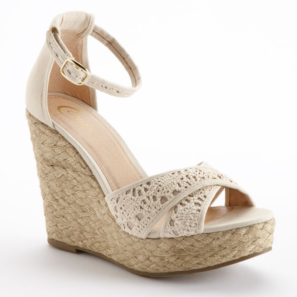 a709e96912d5bd Crochet is back with a bang.  sandals  Candies  Kohls