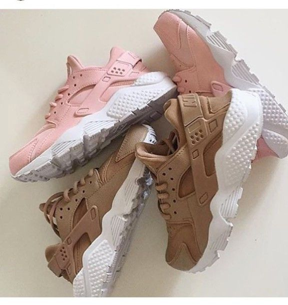 e09ccc98a1c0 shoes nike hurraches nude nike huarache pink beige white hurraches nike  shoes trainers huarache pink huarache rose huarache sneakers brown huarache  nike ...