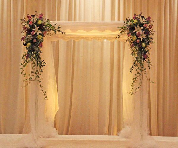Wedding Flowers Ceremony Backdrop Indoor Wedding Ceremony Backdrop Wedding Ceremony Decorations