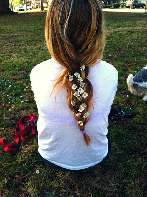 flower braid. So pretty