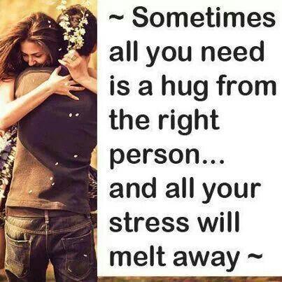 A HUG FROM U.