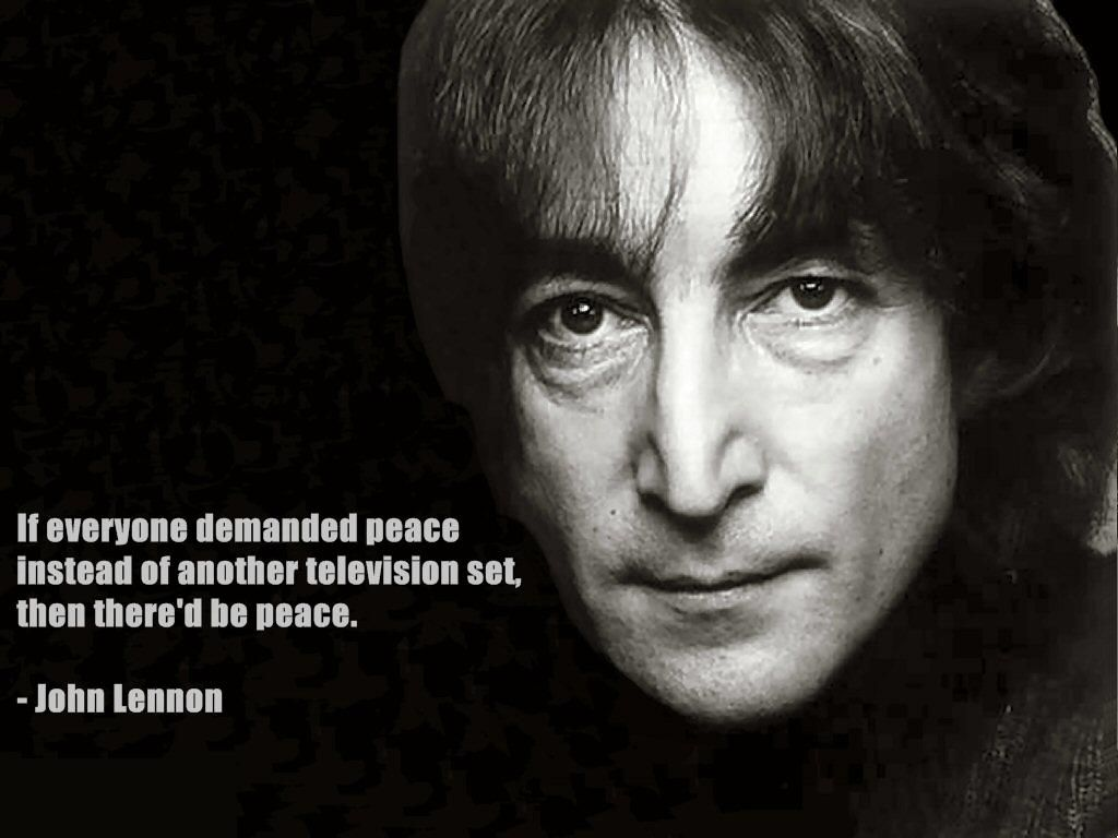 John Lennon Quotes Thoughts From A Psychedelic Mind Inspiration