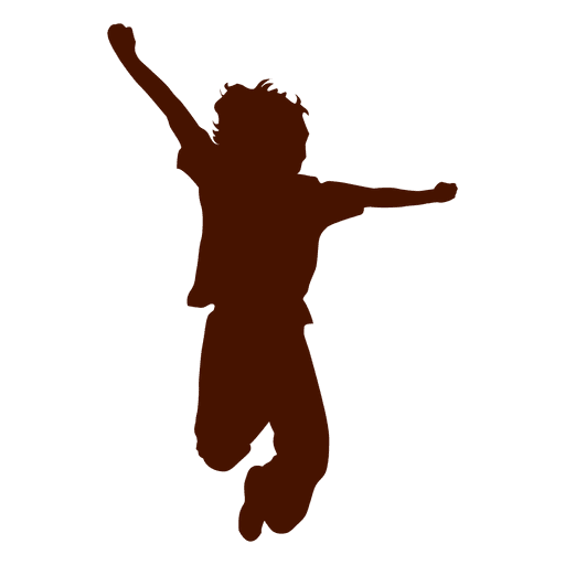 Kid Jumping Silhouette Ad Sponsored Ad Silhouette Jumping Kid Material Design Background Silhouette Silhouette Png